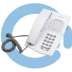 Системный цифровой телефон, светло-серый Aastra Dialog 4220 Lite, Telephone Set, Light Grey (DBC22001/01001)