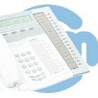 Дополнительная клавишная панель для системных телефонов, светло-серая Aastra Key Panel Unit, Light Grey (DBY41901/01001)