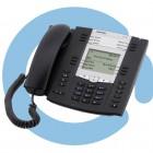 Телефон  SIP, 2 порта Gigabit, БП опционально Aastra Gigabit terminal 6735i w/o Power supply (A6735-0131-1055)